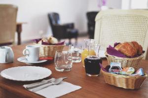 Hôtel de France Saint Savin : petit-déjeuner